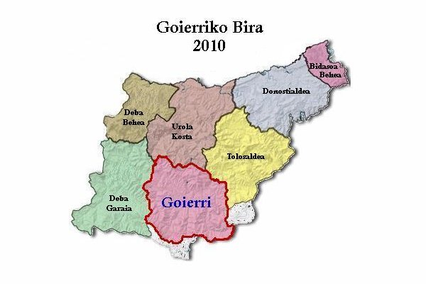 Goierri euskaldea Gipuzkoan