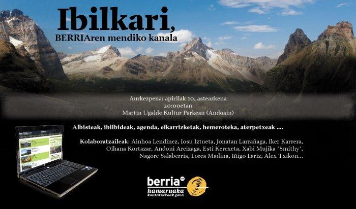 Ibilkari - BERRIA Egunkariko Mendiaren kanala