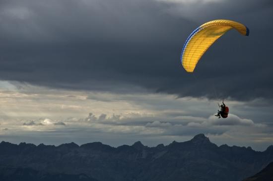 Parapente en L'Aiguille du Midi (Chamonix)