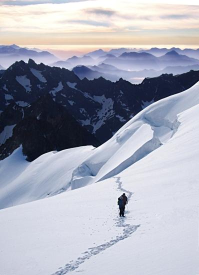 Glaciar blanco - Barre des Ecrins