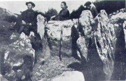 Aranzadi eta Barandiaran Jentilarri trikuharrian -1917-