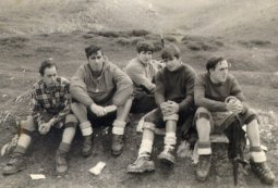 Felix Tauscke, Manuel Iraola, Jose Miguel Plazaola, Jose Ramon Plazaola, Pedro Tauscke eta Txomin Bereziartua (1972 urtera aldera)